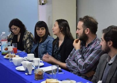 Nodo XXI reúne a Colegio de profesores con investigadores(as) en educación