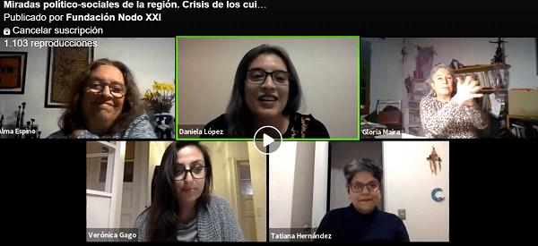Crisis de los Cuidados: Miradas político – sociales de la región