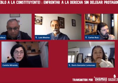 La construcción de una Nueva Constitución debe incorporar al Movimiento Social