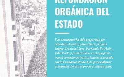 Principios para una refundación orgánica del Estado