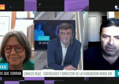 """Carlos Ruiz y manifiesto 'Ampliar la democracia': """"Entendemos el proceso constituyente como la apertura de un camino"""""""