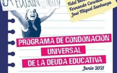 Sí se puede condonar el CAE: organizaciones educativas ponen a disposición programa que tiene la fórmula para eliminar esta carga a miles de personas